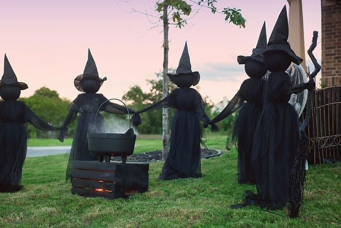 Bubbling Cauldron for halloween