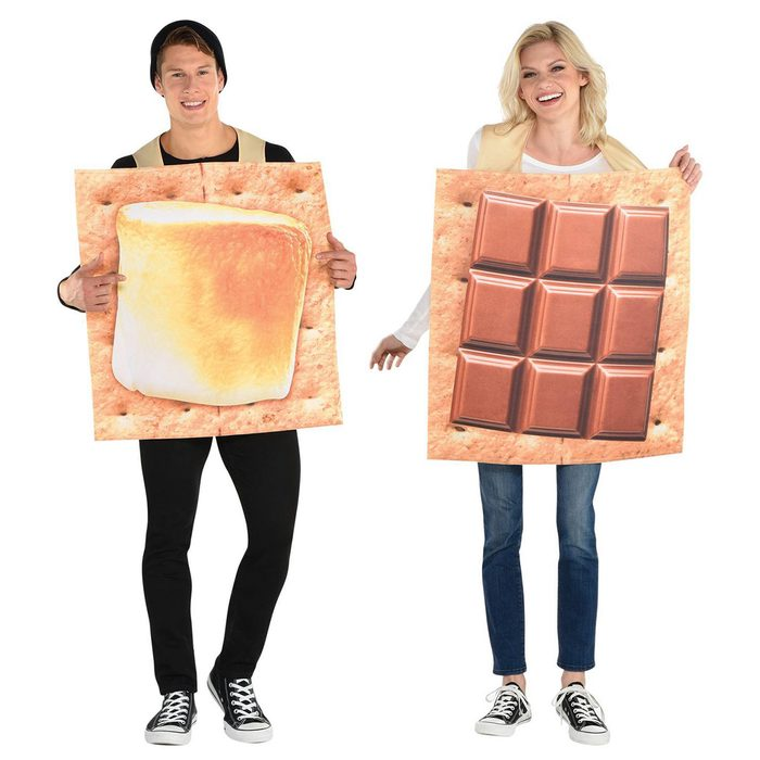 Campfire Smores Halloween Costume