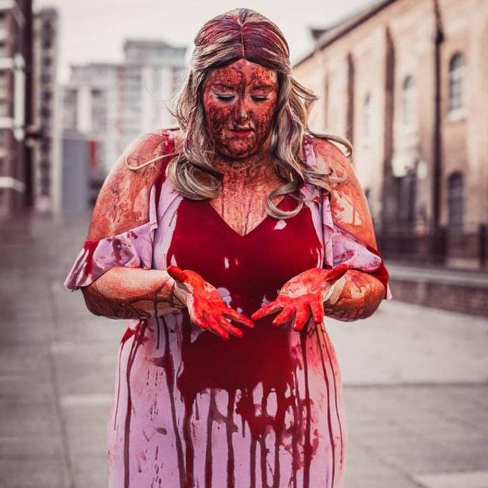 Carrie Halloween Makeup