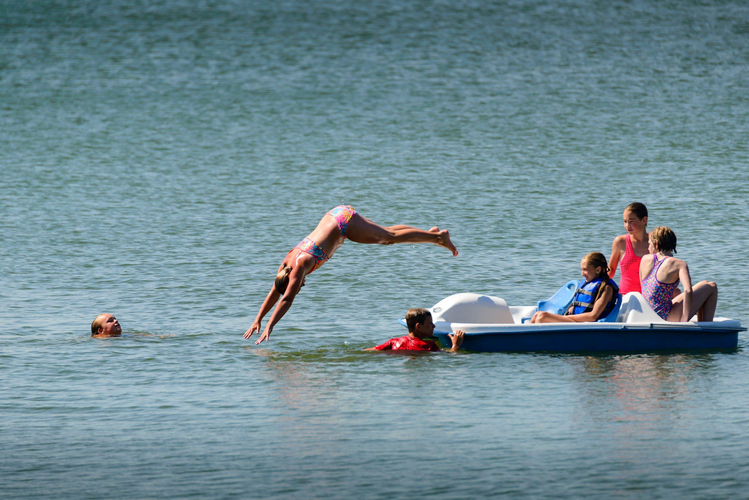 South Dakota: Lake Poinsett