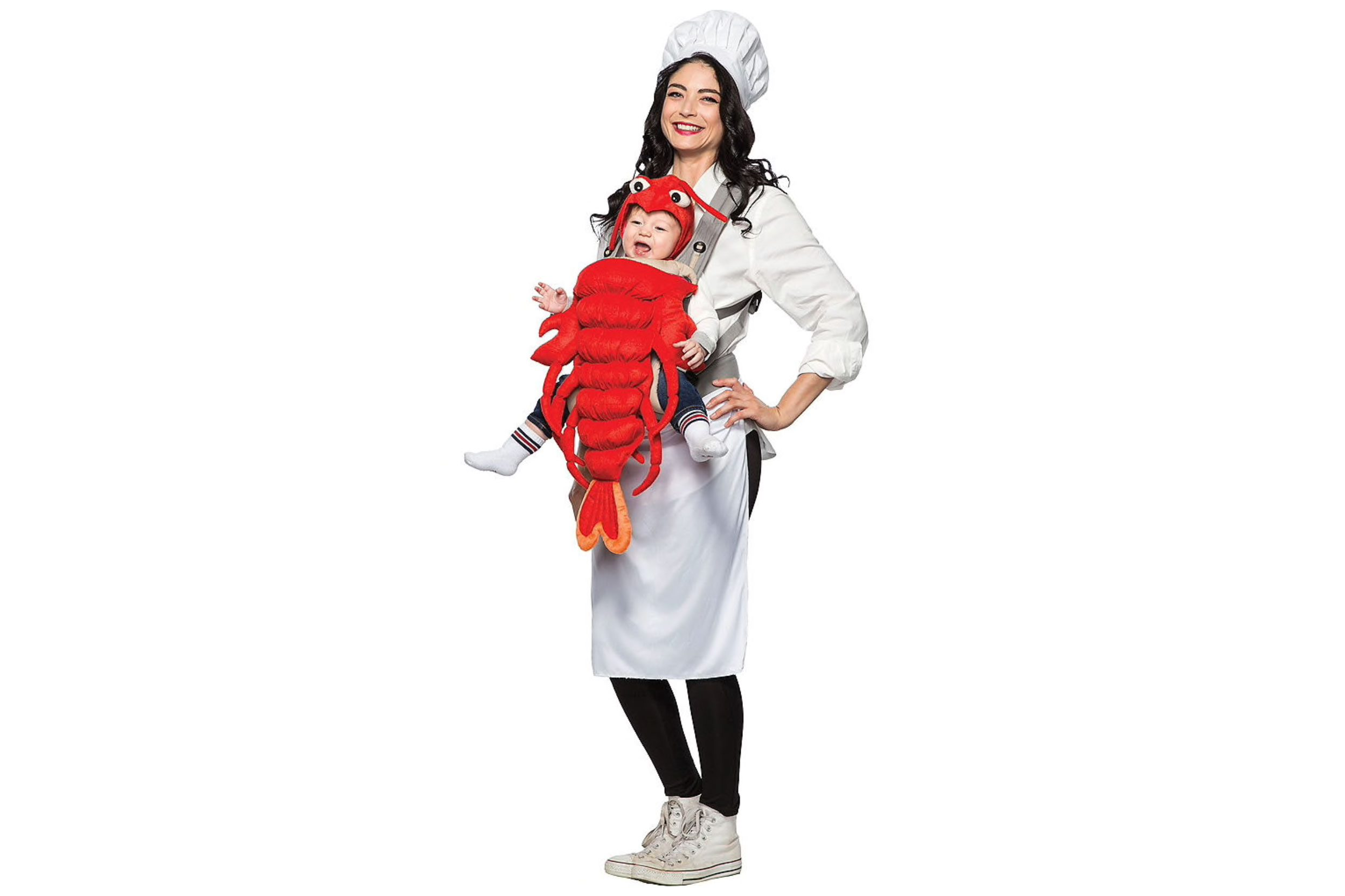 chef and lobster funny halloween costume