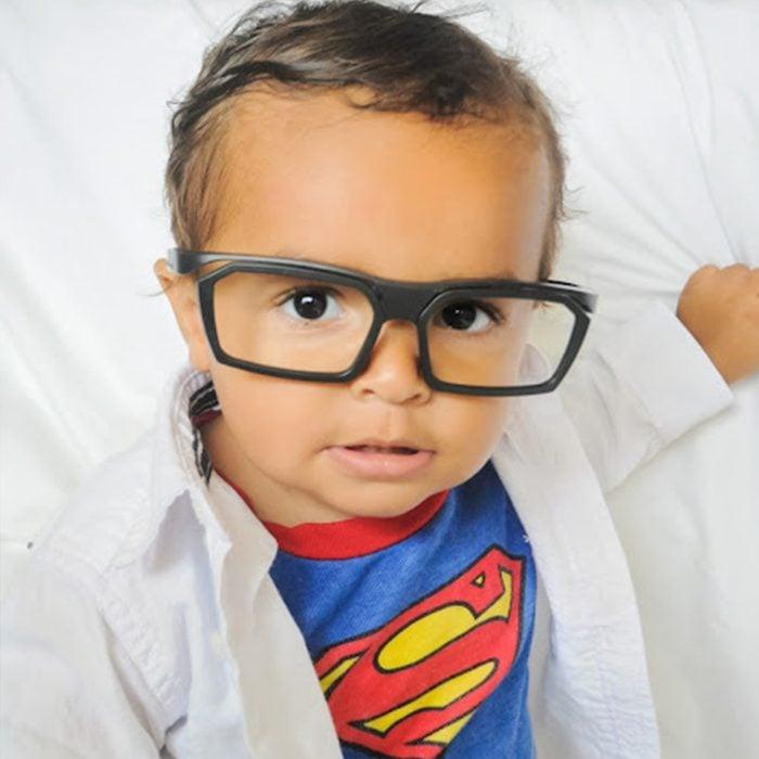 Clark Kent Superman Diy Kids Halloween Costume
