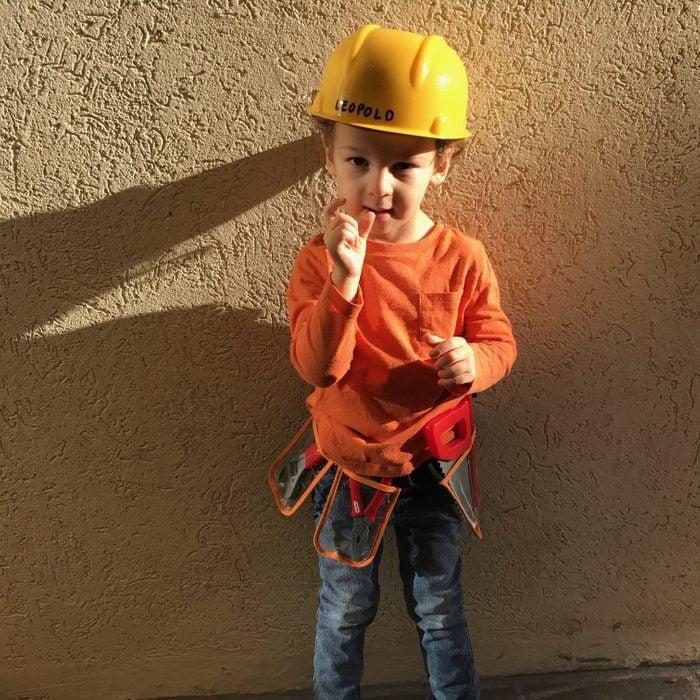 Construction Worker Diy Halloween Costume Anne Fritz