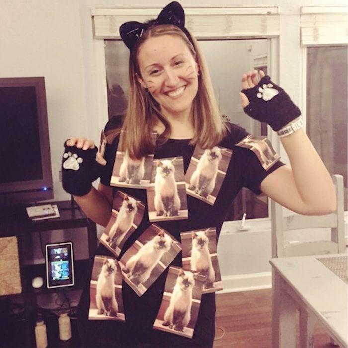 Copy Cat costume
