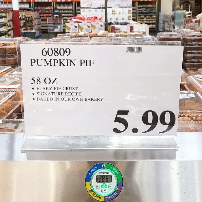 Costco Pumpkin Pie Sign Rachel Wilke
