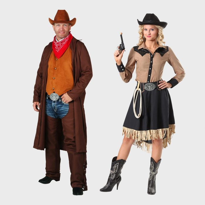 Cowboy And Cowgirl Costumes
