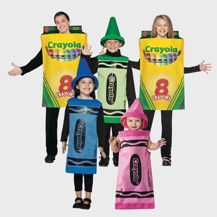 Crayon Family Costume