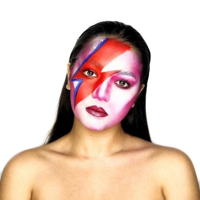 David Bowie Halloween Makeup