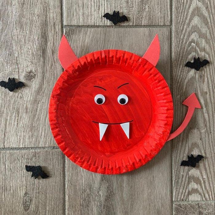 Devil Plate Via Diy Rosanna