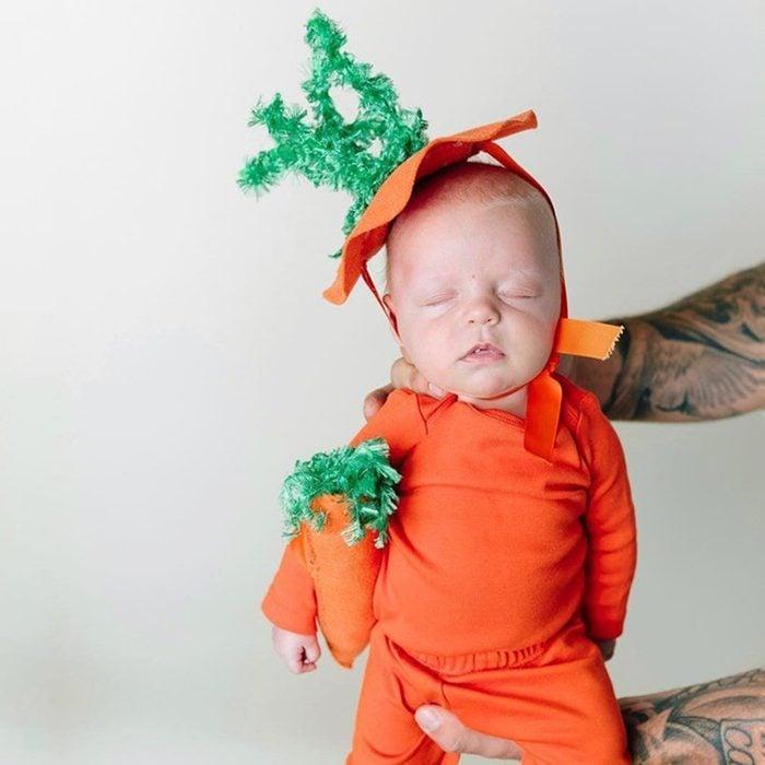 Diy Baby Carrot Halloween Costume