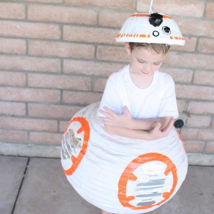 Diy Bb8 Star Wars Halloween Costume