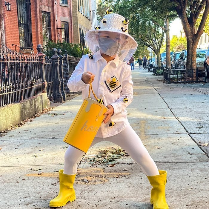 Diy Beekeeper Halloween Costume