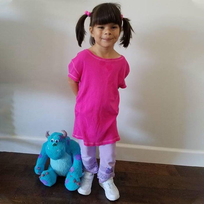 Diy Boo Monsters Inc Halloween Costume