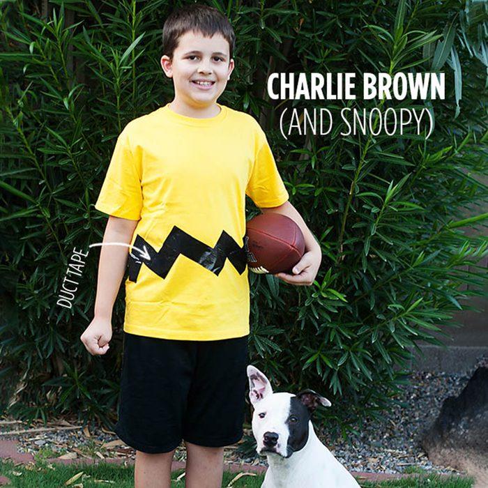 Diy Charlie Brown And Snoopy Halloween Costume