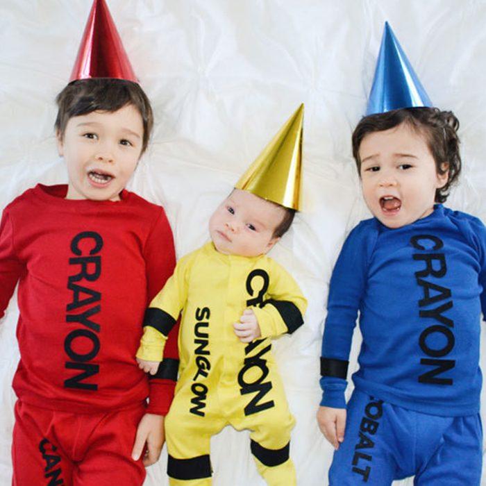 Diy Crayons Halloween Costume Via Diy.primary