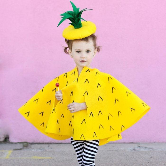 Diy Pineapple Kids Costume Via Deliacreates