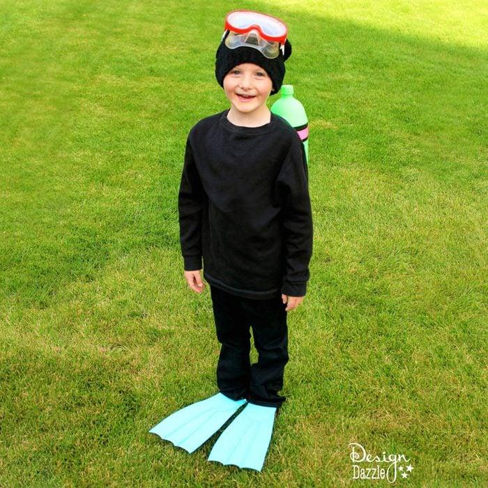 Diy Scuba Diver Halloween Costume