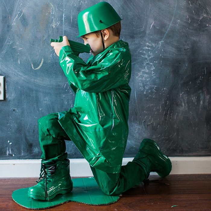 Diy Toy Army Man Halloween Costume
