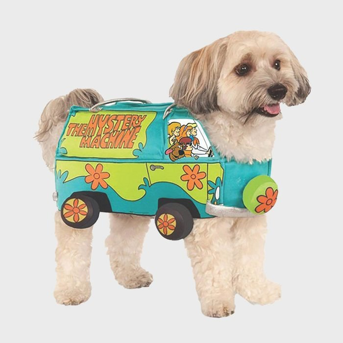 Scooby Doo Mystery Machine dog costume