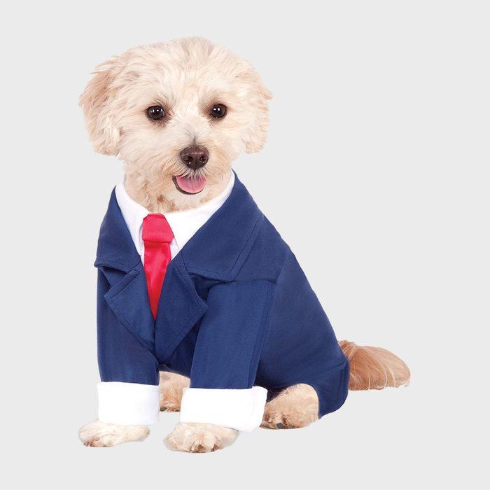 Business dog costume