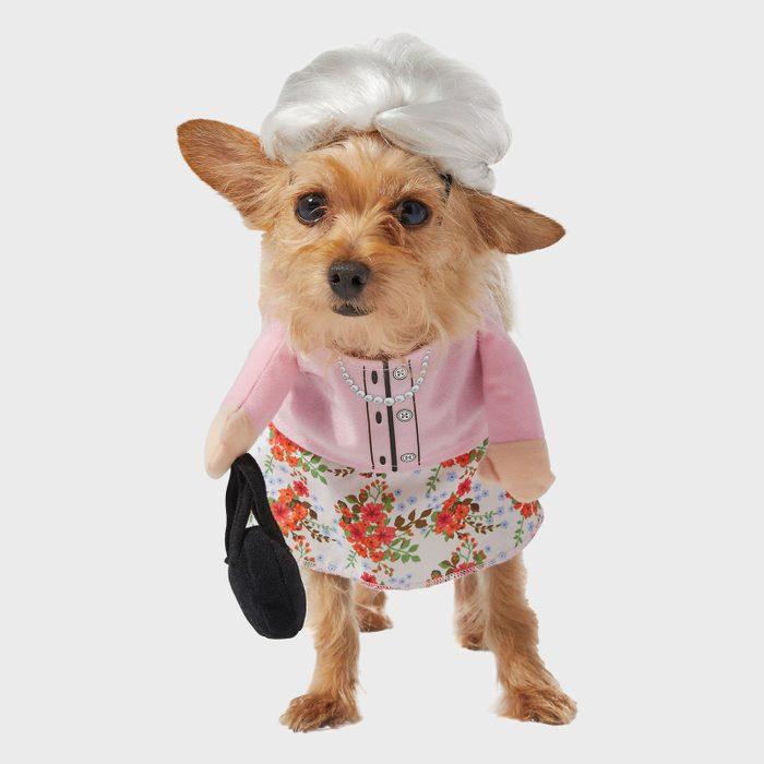 Granny dog costume
