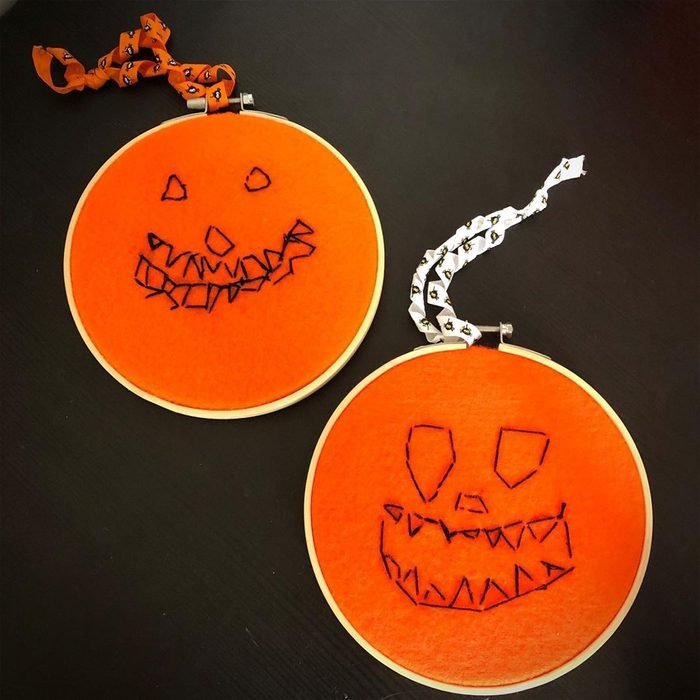 Embroidery Pumpkins Spud And Pudding