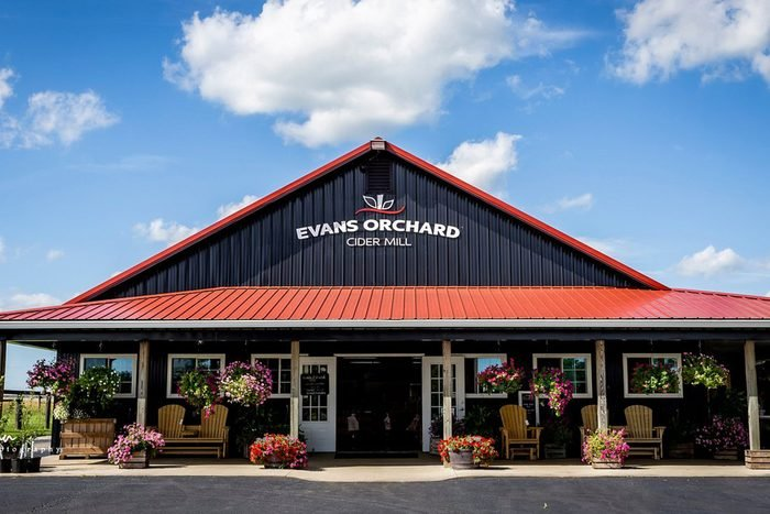 Evans Orchard In Georgetown Kentucky