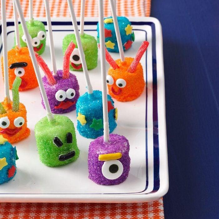 Martian Marshmallows kids halloween treat