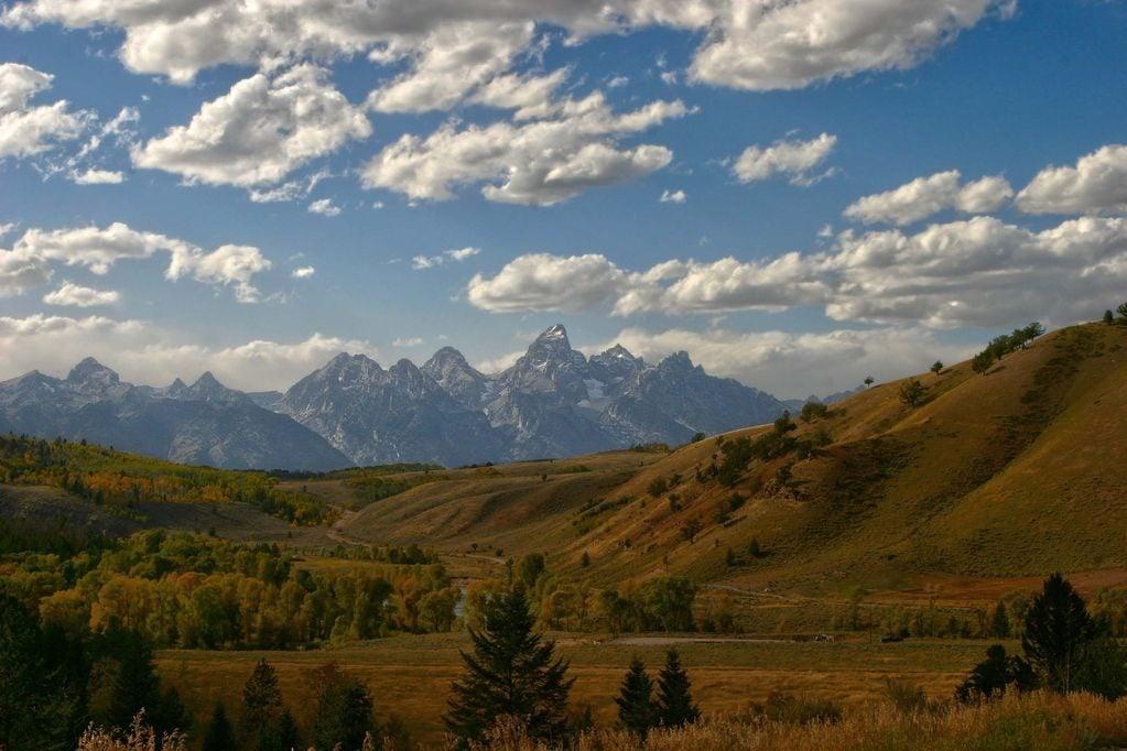 Grant Teton and Yellowstone, Wyoming