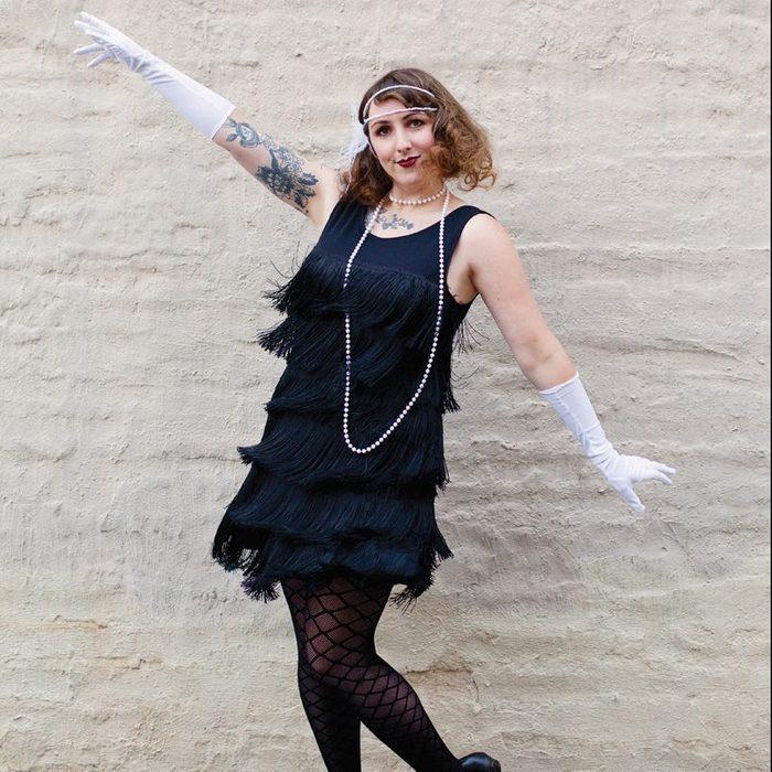 Flapper costume DIY