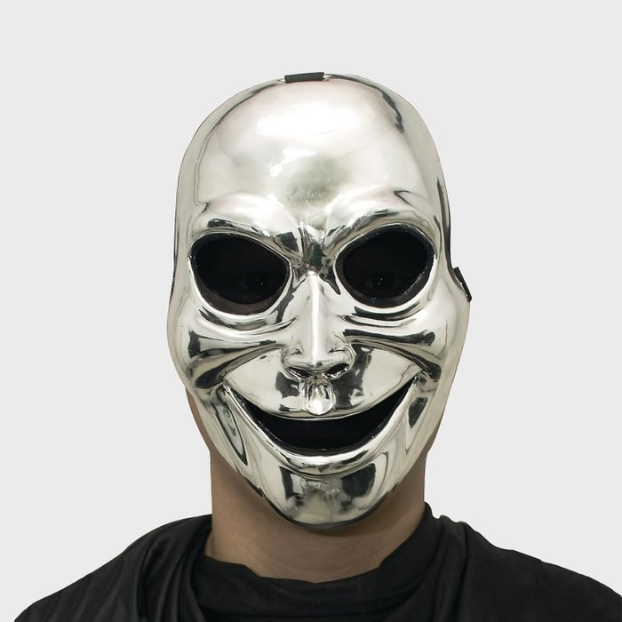 Ghost Mask Costume