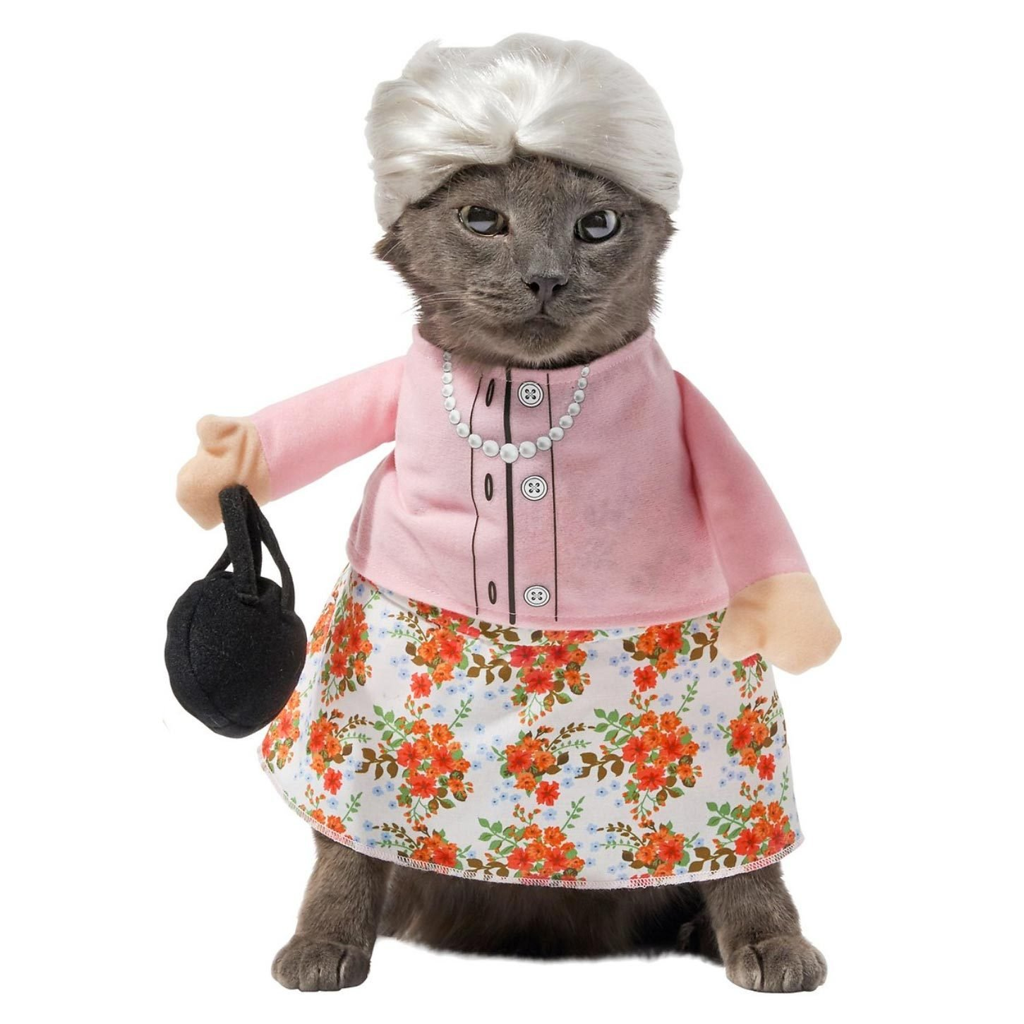 granny cat costume