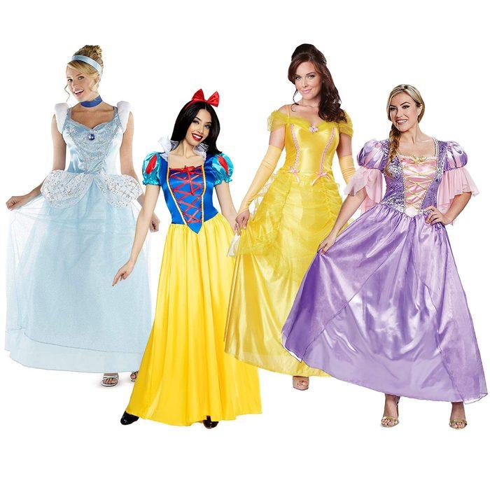 Group Disney Princesses Halloween Costume