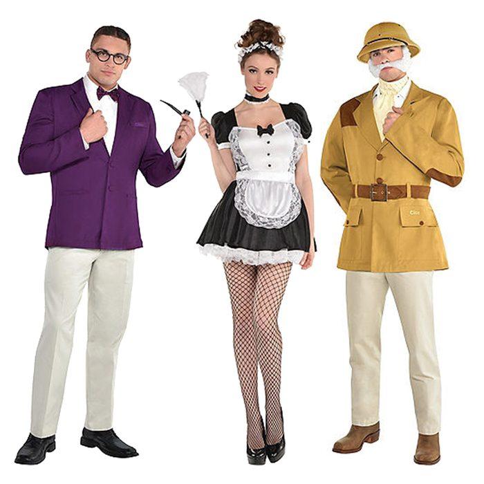 Group Clue Halloween Costume