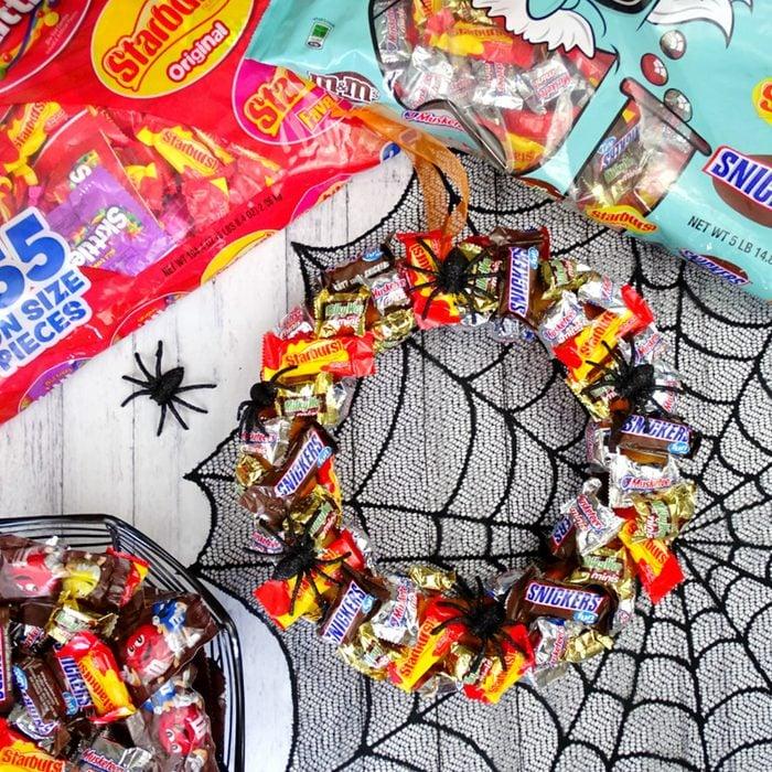 Halloween Candy Wreath Jessica Holoka