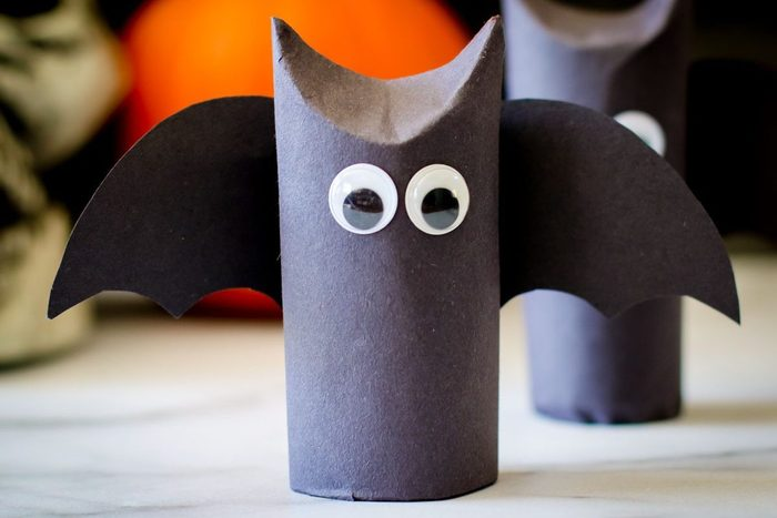 Halloween diy bat craft for kids