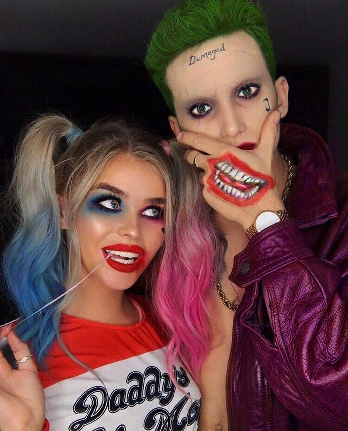 Harley Quinn Couples Costume Instagram