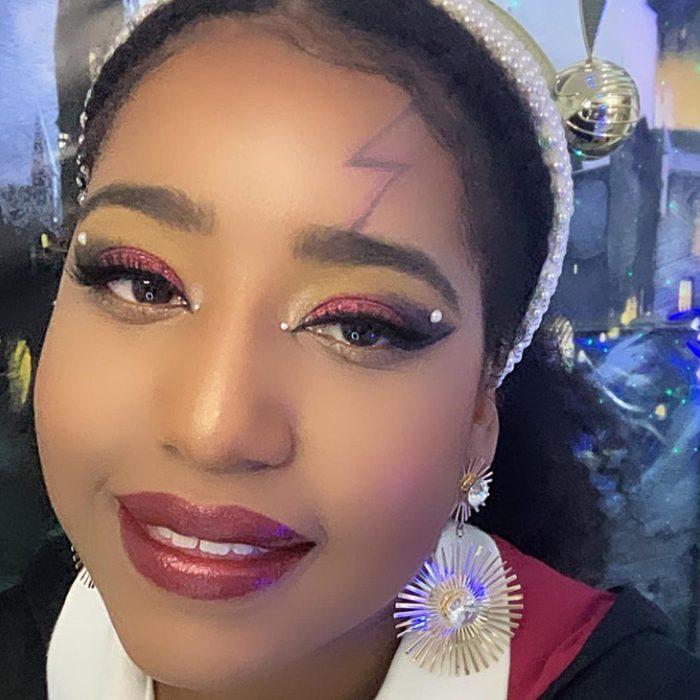 Harry Potter Halloween Makeup Via Johanybunny