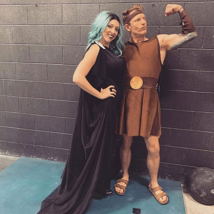hades and hercules couples halloween costume