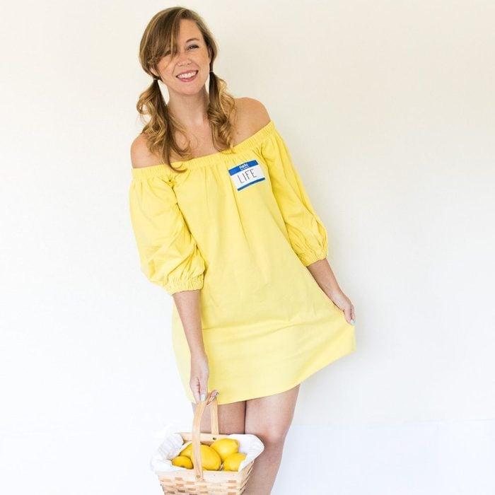 Life Gives You Lemons diy costume