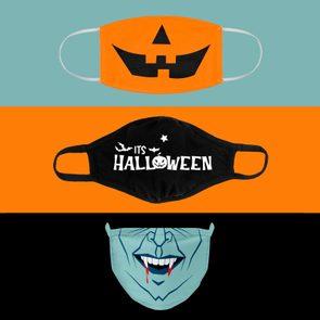 halloween coronavirus masks