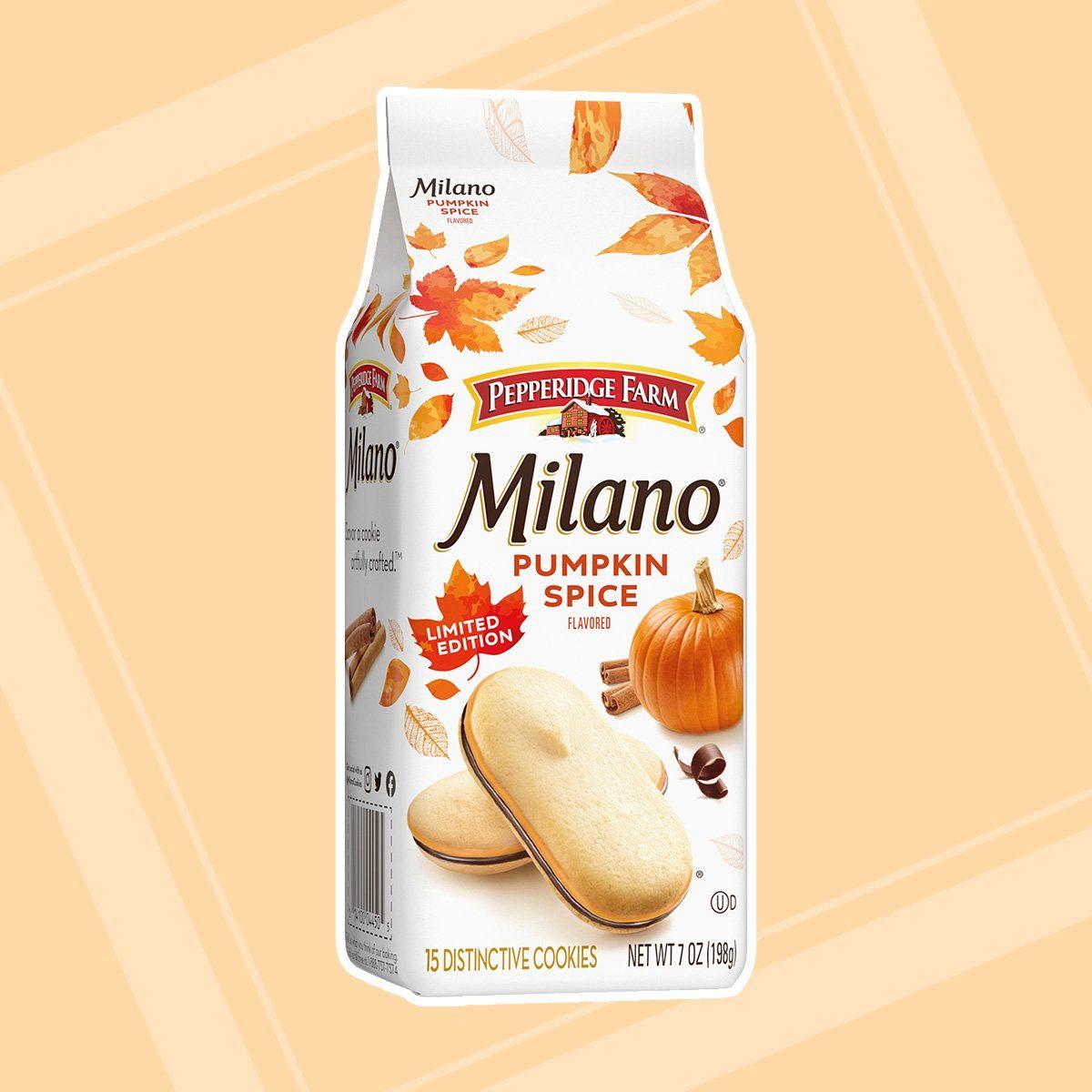Milano pumpkin spice flavor