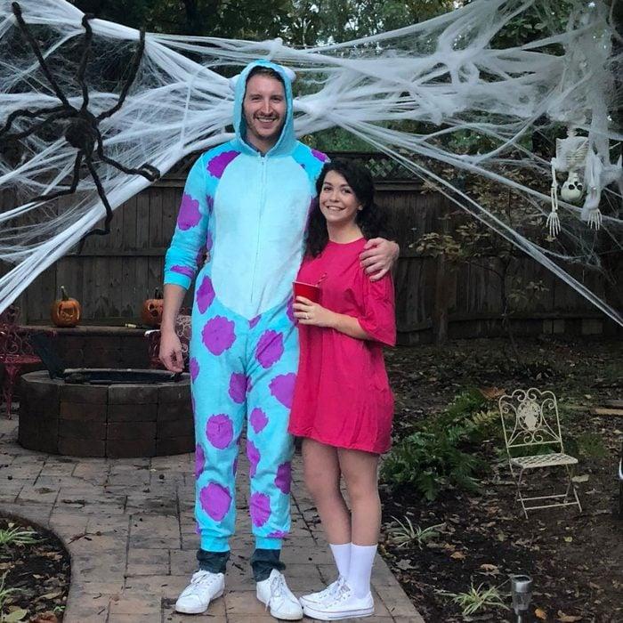 monsters inc couples halloween costume