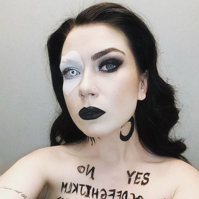 Ouija Board Halloween Makeup Via Makeupbykate Nyc