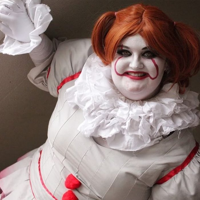 Pennywise The Clown Halloween Makeup