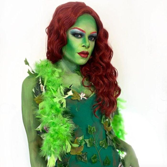 Poison Ivy Face Paint