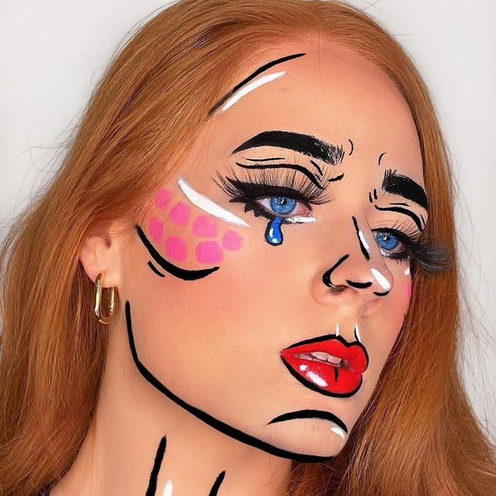 Lichtenstein diy costume