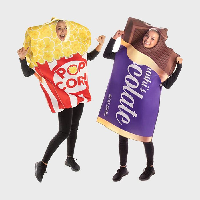 Popcorn And Candy Costume