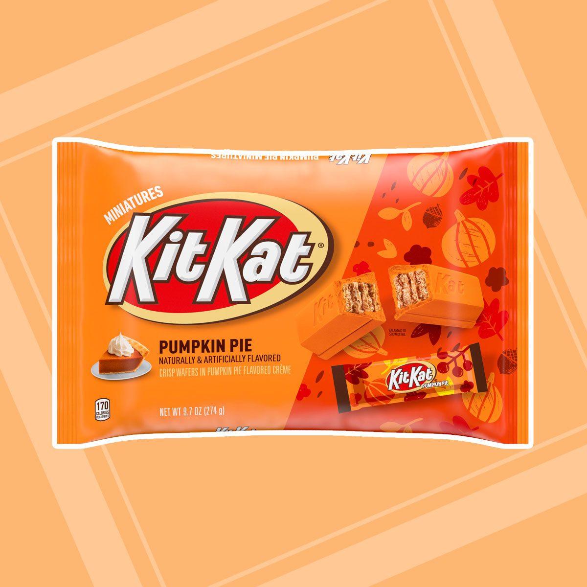 pumpkin pie kit kat bars