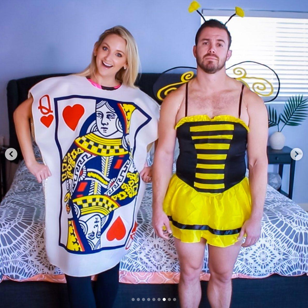 queen bee couples halloween costume